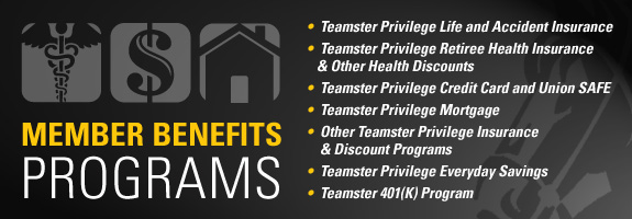 When you join the Teamsters Union, you not only get a voice in the workplace but you also get Teamster benefits. The Teamster Privilege program offers ...